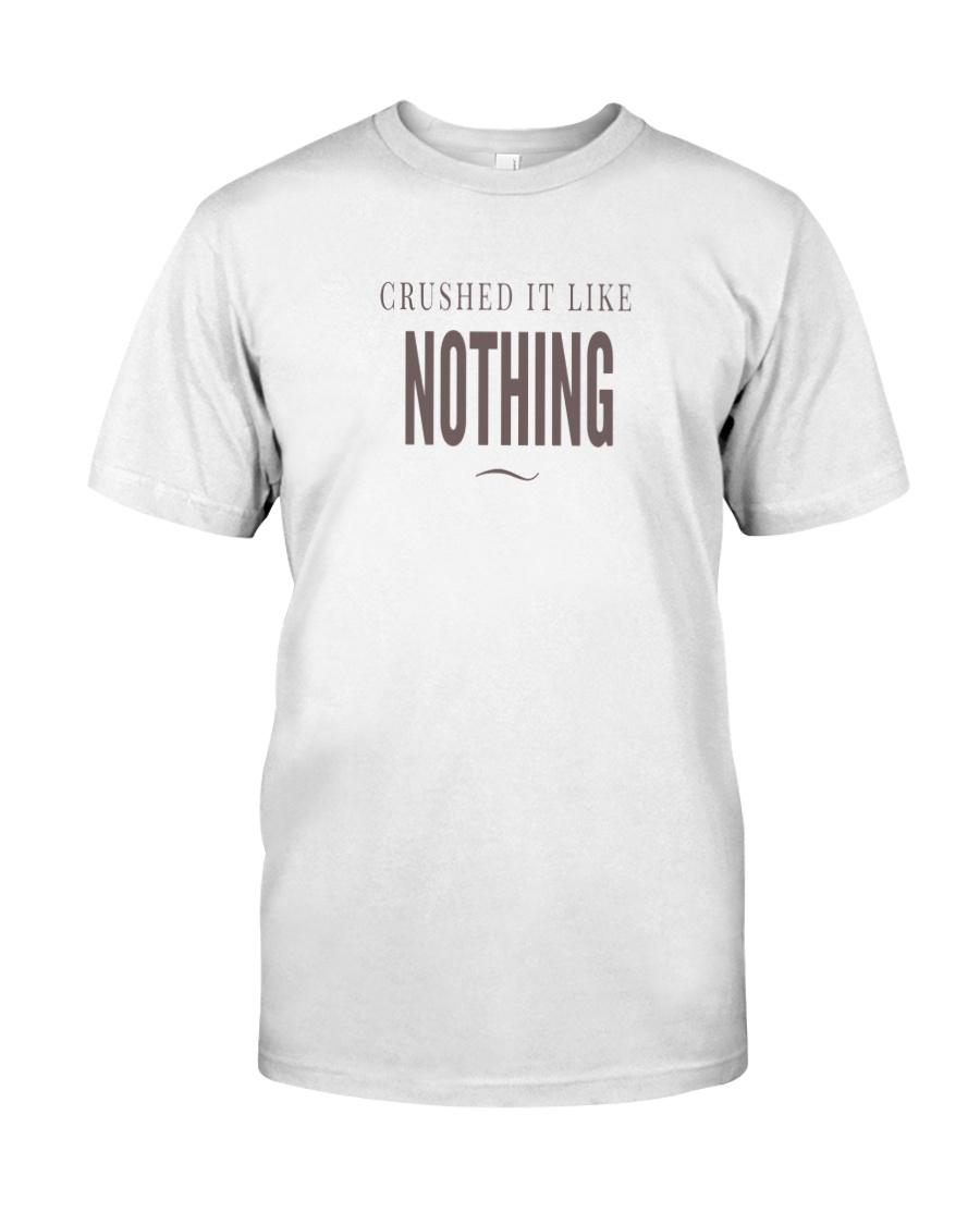 Badass Shirt - Brown Version Classic T-Shirt