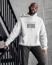 Badass Shirt - Brown Version Hooded Sweatshirt apparel-hooded-sweatshirt-lifestyle-front-10
