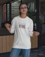 Badass Shirt - Brown Version Long Sleeve Tee apparel-long-sleeve-tee-lifestyle-08
