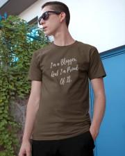Proud Blogger Classic T-Shirt apparel-classic-tshirt-lifestyle-17
