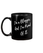 Proud Blogger Mug back
