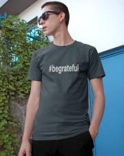 Be Grateful Classic T-Shirt apparel-classic-tshirt-lifestyle-17