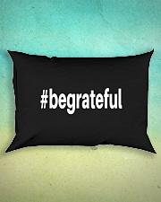 Be Grateful Rectangular Pillowcase aos-pillow-rectangle-front-lifestyle-3