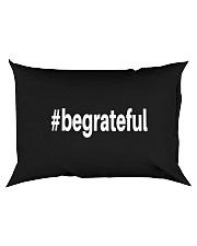 Be Grateful Rectangular Pillowcase back