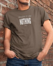 Badass Shirt - White Version Classic T-Shirt apparel-classic-tshirt-lifestyle-26