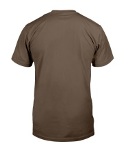 Badass Shirt - White Version Classic T-Shirt back
