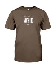 Badass Shirt - White Version Classic T-Shirt front