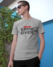 It Is Never Game Over Classic T-Shirt apparel-classic-tshirt-lifestyle-17