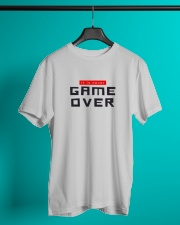 It Is Never Game Over Classic T-Shirt lifestyle-mens-crewneck-front-3