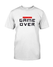 It Is Never Game Over Classic T-Shirt tile