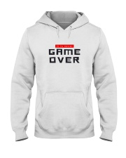It Is Never Game Over Hooded Sweatshirt tile