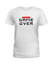 It Is Never Game Over Ladies T-Shirt tile