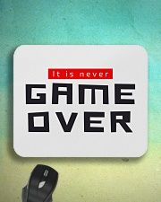 It Is Never Game Over Mousepad aos-mousepad-front-lifestyle-3