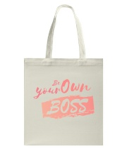 Be Your Own Boss - Female Edition Tote Bag front