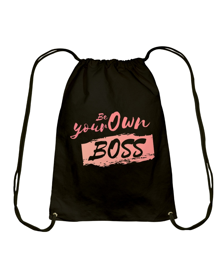 Be Your Own Boss - Female Edition Drawstring Bag
