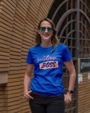 Be Your Own Boss - Female Edition Premium Fit Ladies Tee lifestyle-women-crewneck-front-2