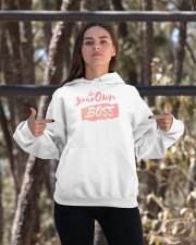 Be Your Own Boss - Female Edition Hooded Sweatshirt apparel-hooded-sweatshirt-lifestyle-05