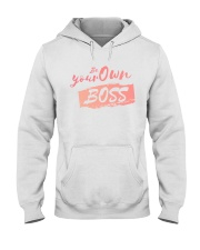 Be Your Own Boss - Female Edition Hooded Sweatshirt thumbnail