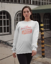 Be Your Own Boss - Female Edition Long Sleeve Tee apparel-long-sleeve-tee-lifestyle-09