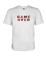 It Is Never Game Over V-Neck T-Shirt thumbnail