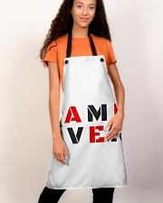 It Is Never Game Over Apron aos-apron-27x30-lifestyle-front-03