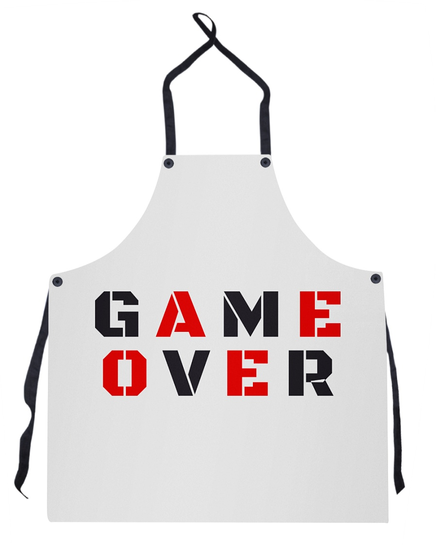 It Is Never Game Over Apron