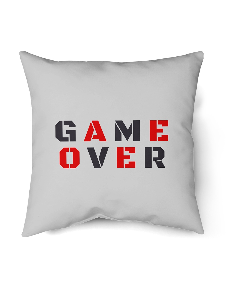 """It Is Never Game Over Indoor Pillow - 18"""" x 18"""""""
