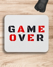 It Is Never Game Over Mousepad aos-mousepad-front-lifestyle-1