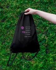 Empowered Women Drawstring Bag lifestyle-drawstringbag-front-3