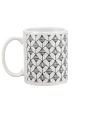Rhombus Style  Mug back