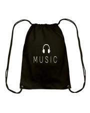 Music Drawstring Bag front