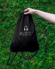 Music Drawstring Bag lifestyle-drawstringbag-front-3
