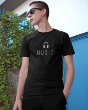 Music Classic T-Shirt apparel-classic-tshirt-lifestyle-17