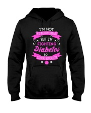 Woman Fighting Diabetes - Limited Edition Hooded Sweatshirt thumbnail