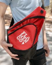 Bookback - Flamengo Libertadores Sling Pack garment-embroidery-slingpack-lifestyle-07