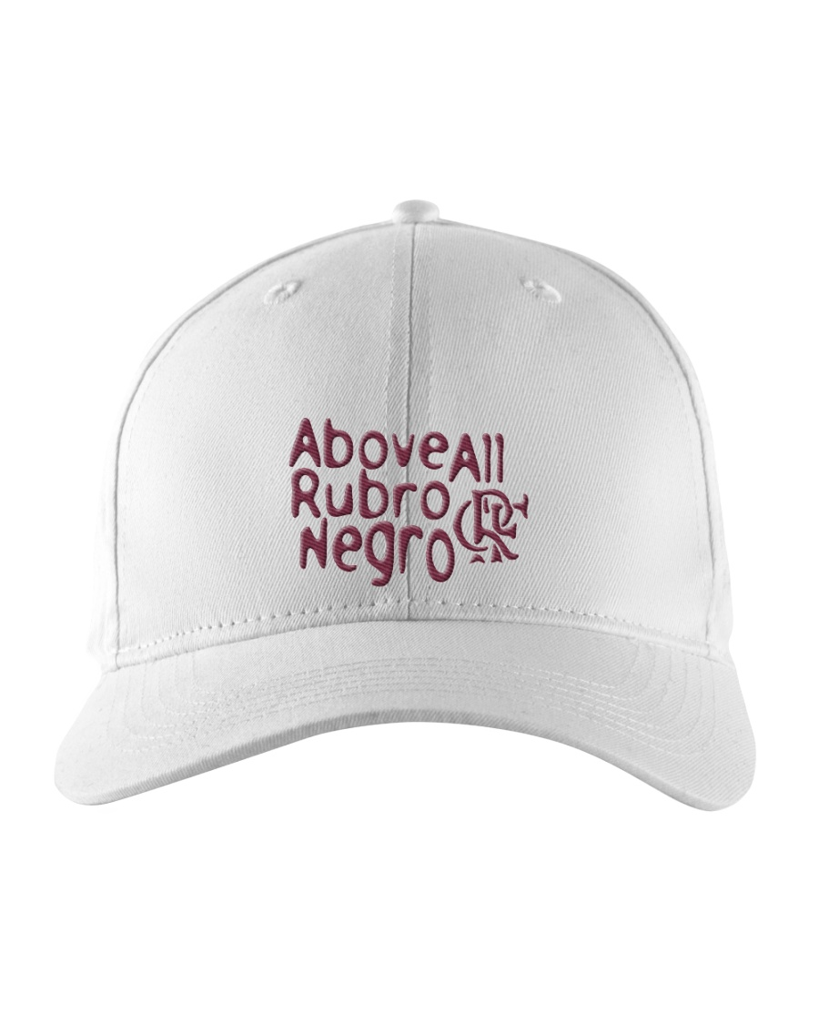 Flamengo Hat - Above All Rubro Negro Embroidered Hat
