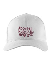 Flamengo Hat - Above All Rubro Negro Embroidered Hat front