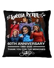 LORETTA LYNN Square Pillowcase thumbnail