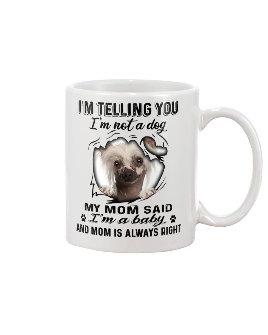 Chinese Crested Dog Telling Mug