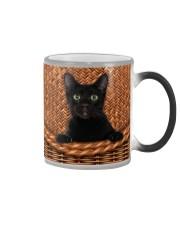 Black Cat Rattan Color Changing Mug thumbnail