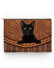 Black Cat Rattan Accessory Pouch - Large thumbnail