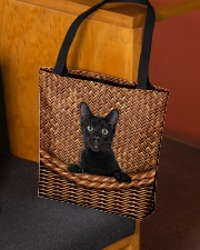 Black Cat Rattan All-over Tote aos-all-over-tote-lifestyle-front-02