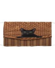 Black Cat Rattan Cloth face mask thumbnail