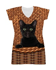 Black Cat Rattan All-over Dress thumbnail