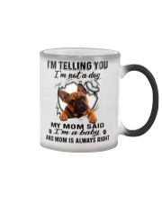 French Bulldog Telling Color Changing Mug thumbnail