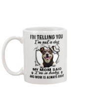 Australian Kelpie Telling Mug back
