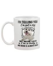 Maltese Telling Mug back