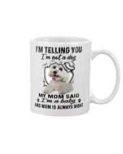 Maltese Telling Mug front