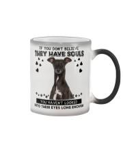 Greyhound Soul Color Changing Mug tile