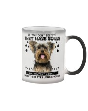 Yorkshire Terrier Soul Color Changing Mug thumbnail